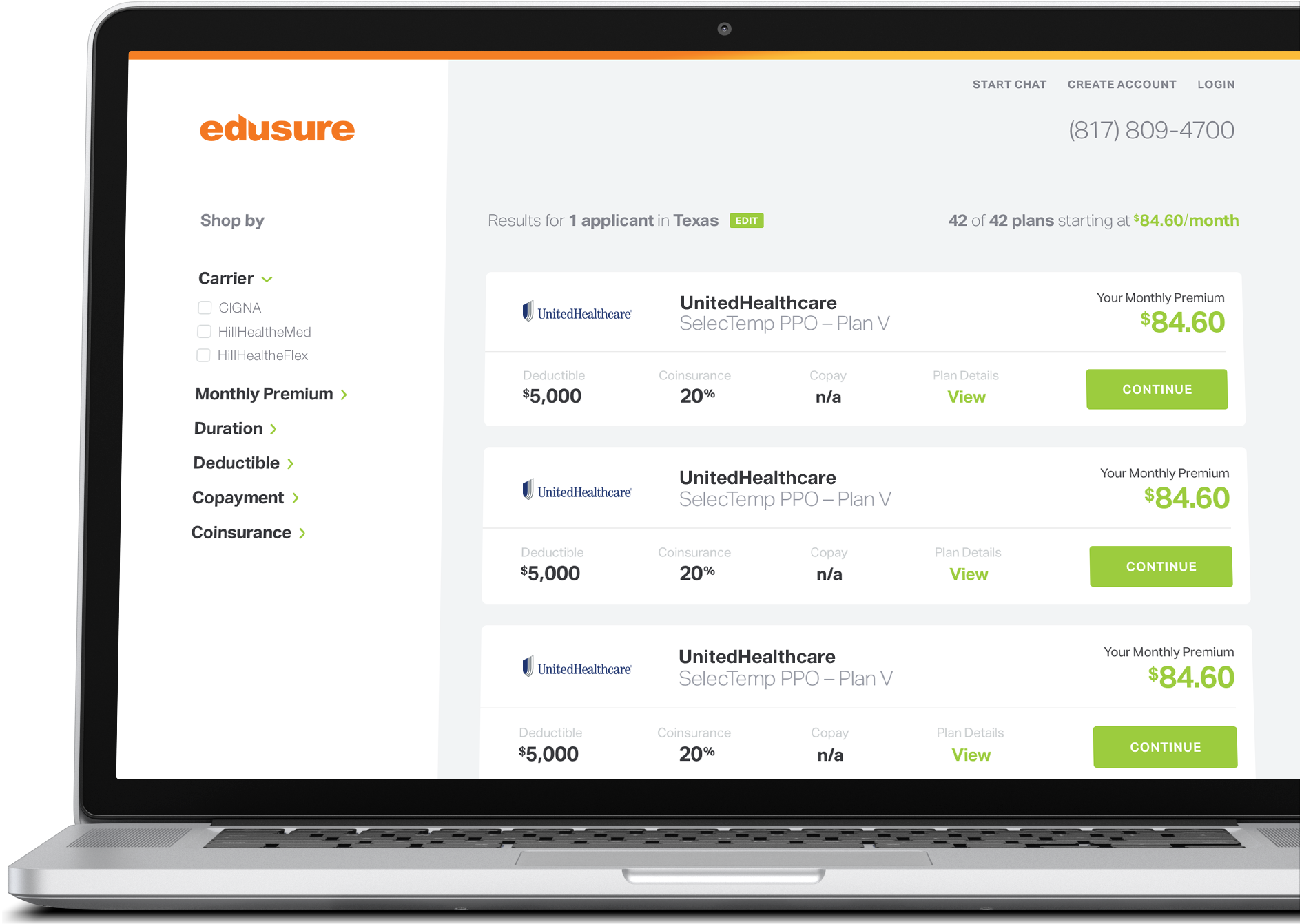 Edusure - Student Healthcare Marketplace